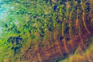färgglada flodfärger foto