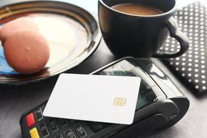 kontaktlöst betalningskoncept