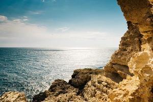 utsikt över havet foto