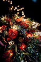 bröllop bukett blommor foto