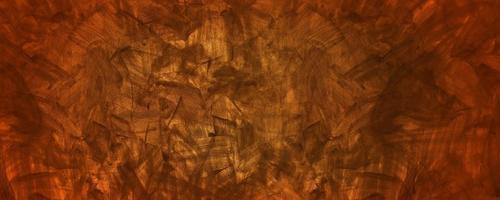 orange och gul grunge cement bakgrund foto