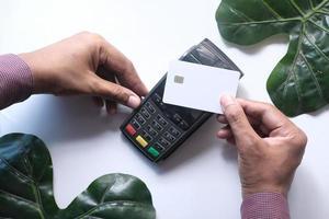 kontaktlös betalning med kreditkort
