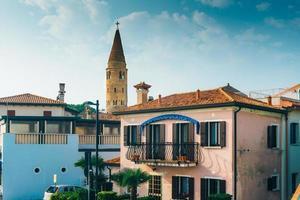 klocktorn duomo santo stefano i caorle italien