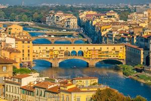 vy över Florens skyline från ovanifrån