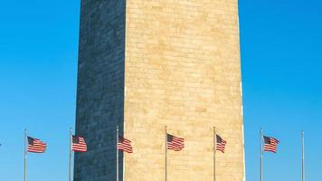 washington monument i washington, dc foto