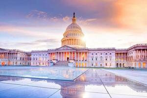 USA: s huvudstadsbyggnad foto