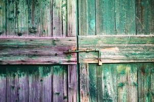 färgglatt rustikt trä foto