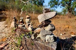 balansera stenar i rad