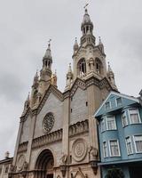 st. peter och paul kyrka i san francisco, usa foto