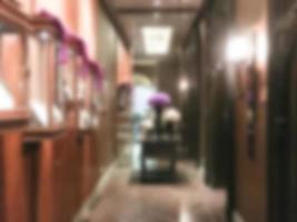 oskärpa hotellinredning foto