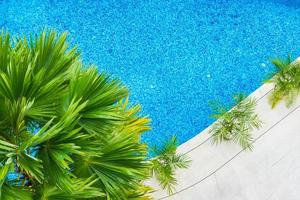 vacker lyxhotell simbassäng