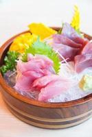 färsk rå sashimifisk