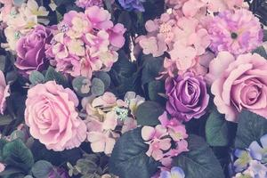 vacker bukett blomma