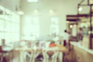 abstrakt oskärpa kafé interiör bakgrund