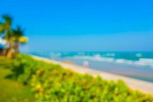 abstrakt oskärpa strand bakgrund