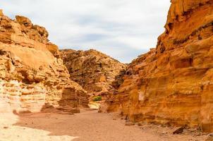 kanjon i Egypten foto