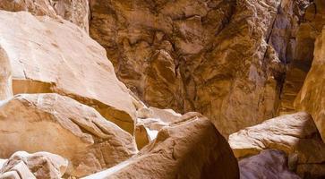 stenar i en kanjon foto