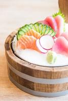 färsk sashimi fisk