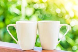 vita kaffekoppar