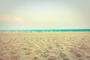 sand på stranden
