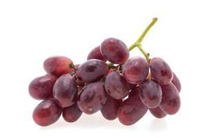 druvor frukt isolerad på vit bakgrund