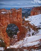 vinter i Bryce Canyon foto