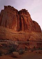 röda stenar i den amerikanska sydvästra foto