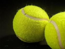 tennisbollfoto foto