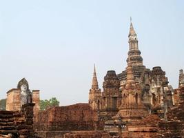 sukhothai historiska park, Thailand foto