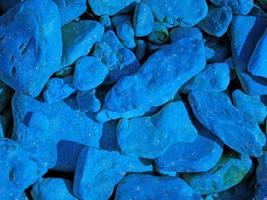 närbild av blå sten eller stenmur för bakgrund eller konsistens foto