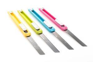 färgglad knivskärare foto
