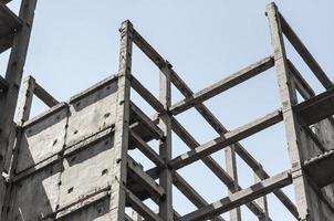 betongram för byggnad foto