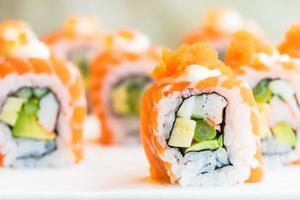 sushi laxrulle