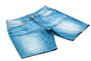 korta jeansbyxor foto