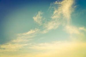 vintage moln himmel