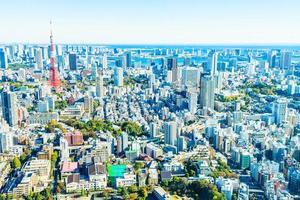 Tokyo stadsbild i Japan