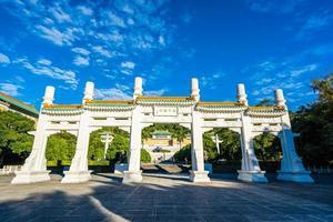 Taipei National Palace Museum i Taiwan foto