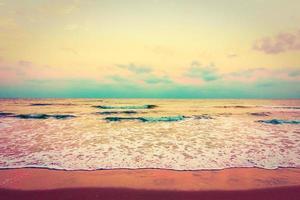 vintage hav och strand