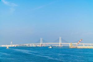 yokohama bridge i yokohama, japan