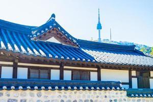 namsangol hanok by i Seoul, Sydkorea