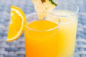 apelsinjuice glas