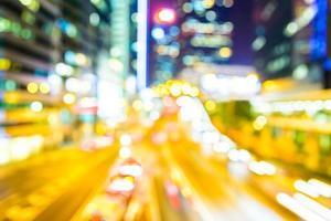 abstrakt oskärpa Hong Kong City bakgrund