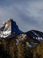 utsikt över de kanadensiska klipporna foto