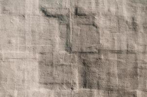 grov grå vägg