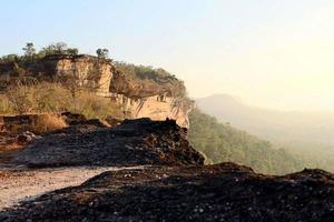 Pha Taem National Park i Thailand foto