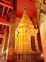 lampang, Thailand 2013 - wat phra som lampang luang tempel foto