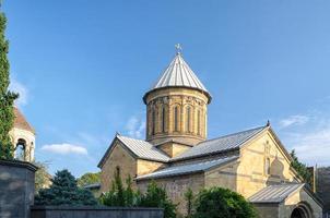 tempel för den georgiska ortodoxa kyrkan foto