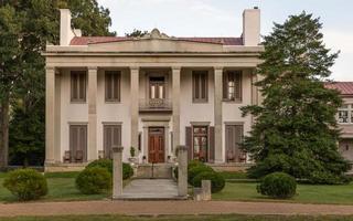 belle meade-herrgården i Nashville, Tennessee, USA foto