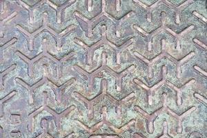 metallisk bakgrund med mönsterstruktur foto