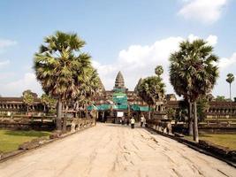 Siem Reap, Kambodja, 2021 - Angkor Thoms ingång foto